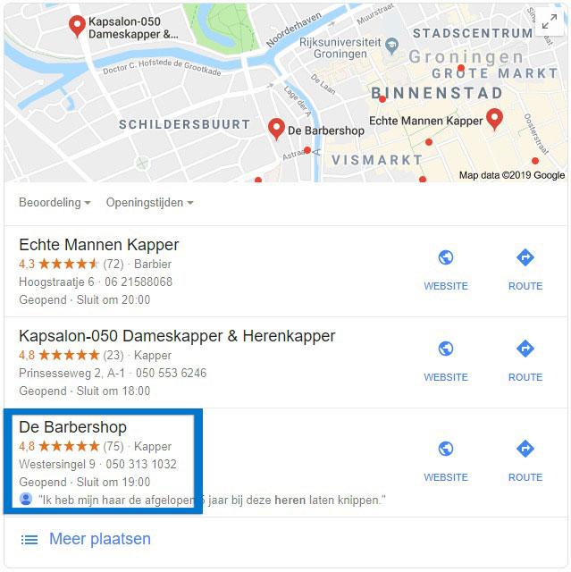 Bedrijf vindbaar maken op google