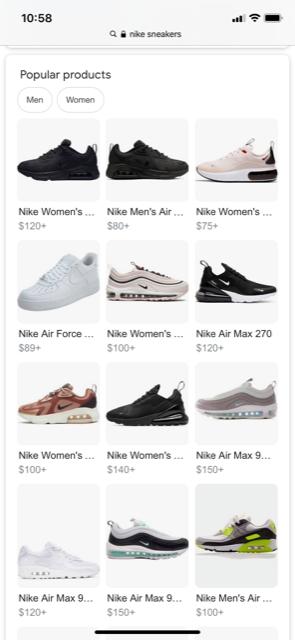 Google shopping organisch
